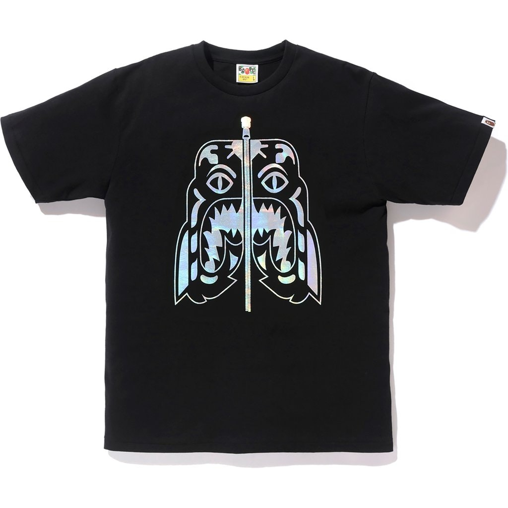 BAPE Hologram Tiger Tee Black