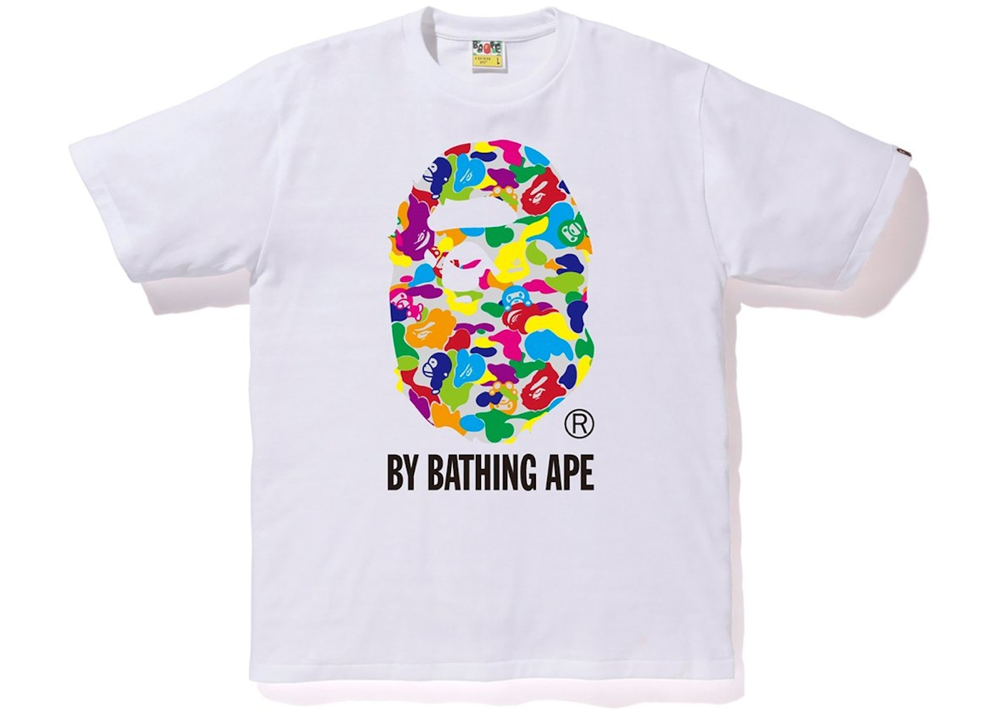 fc052311 Sell. or Ask. Size L. View All Bids. BAPE Milo ABC Multi By Bathing Tee  White