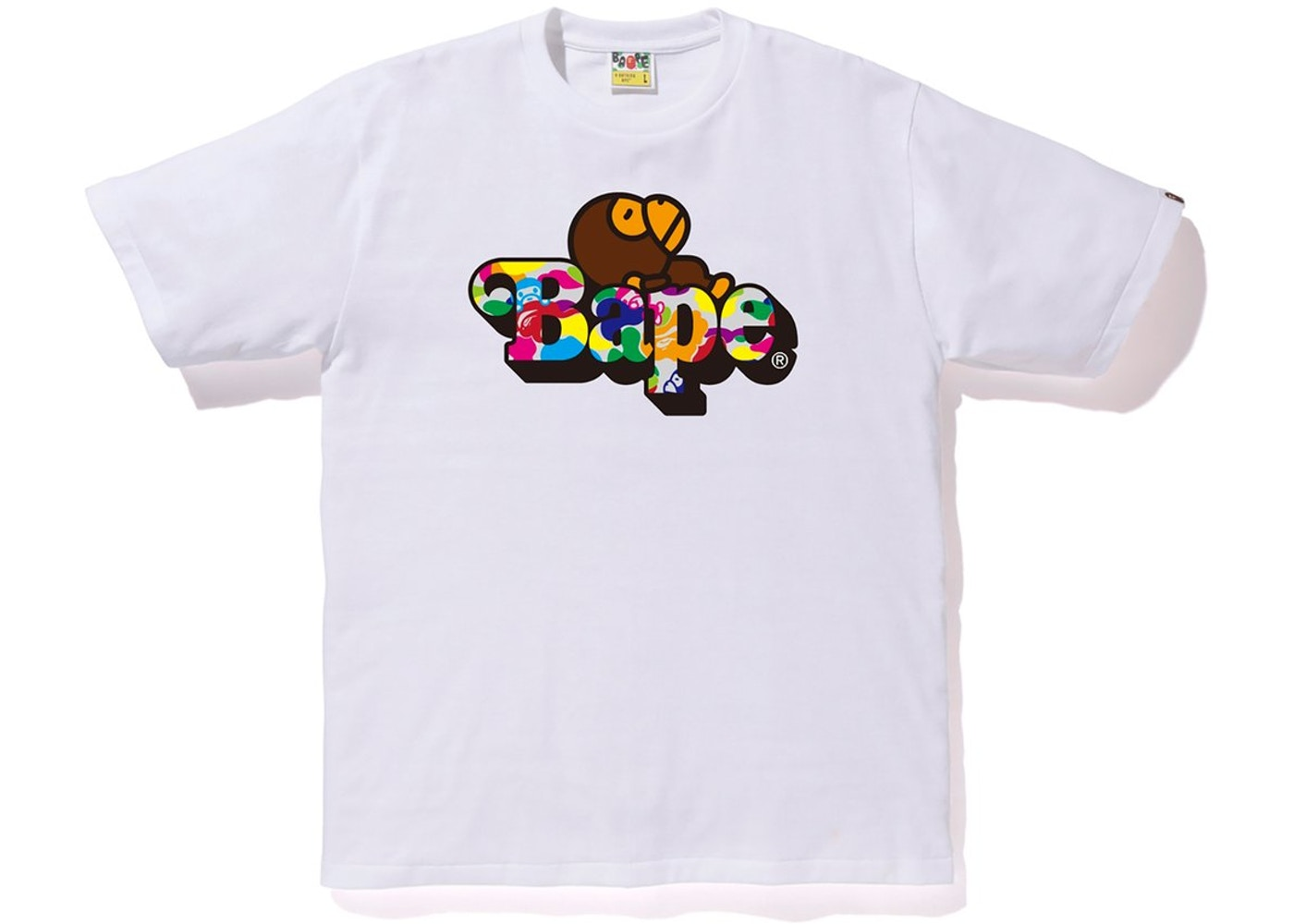 e7a68c8a Sell. or Ask. Size: XL. View All Bids. BAPE Milo ABC Multi Milo On Bape Tee  White