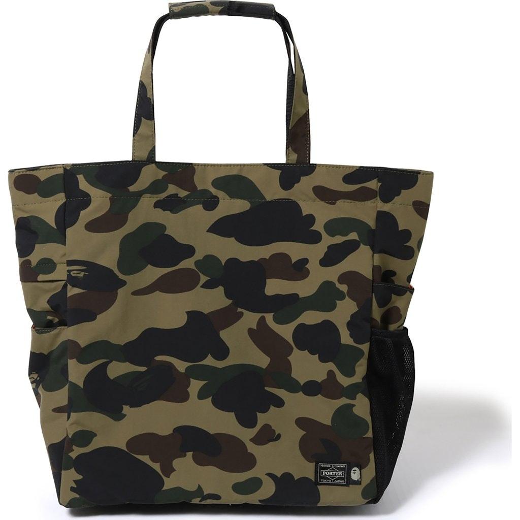 BAPE Porter 1st Camo Tote Bag (SS19) Green