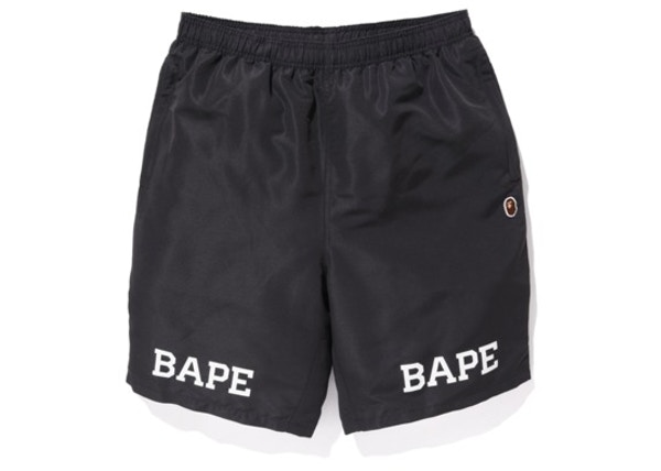 97d4402c BAPE Premium Summer Bag Nylon Shorts Black