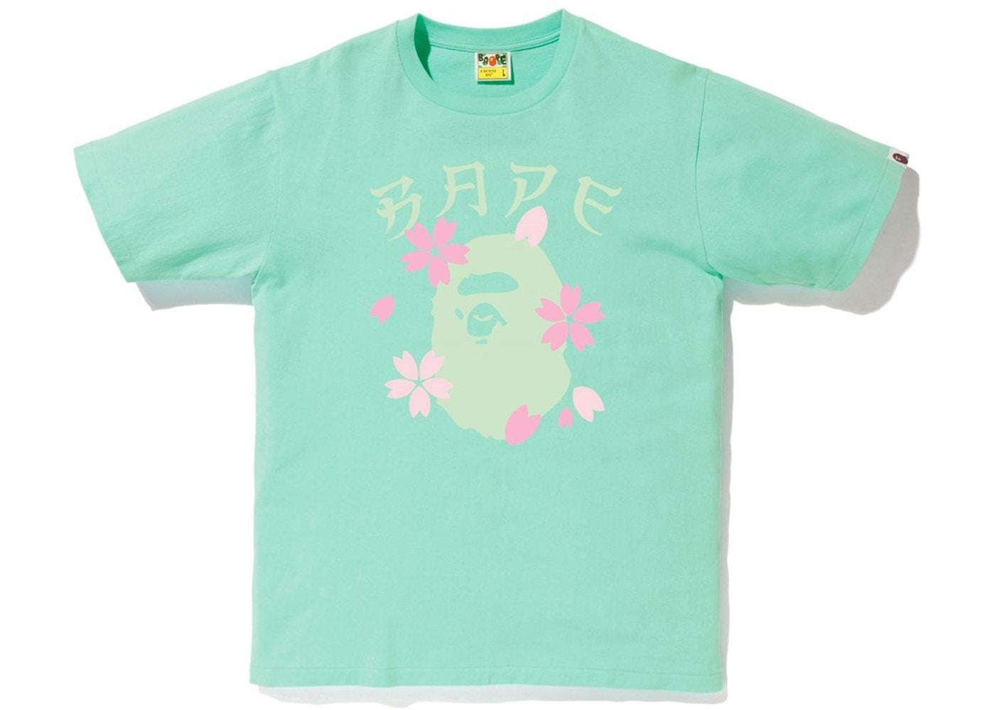 01f0ca8bd Sell. or Ask. Size M. View All Bids. BAPE Sakura Ape Head Tee ...