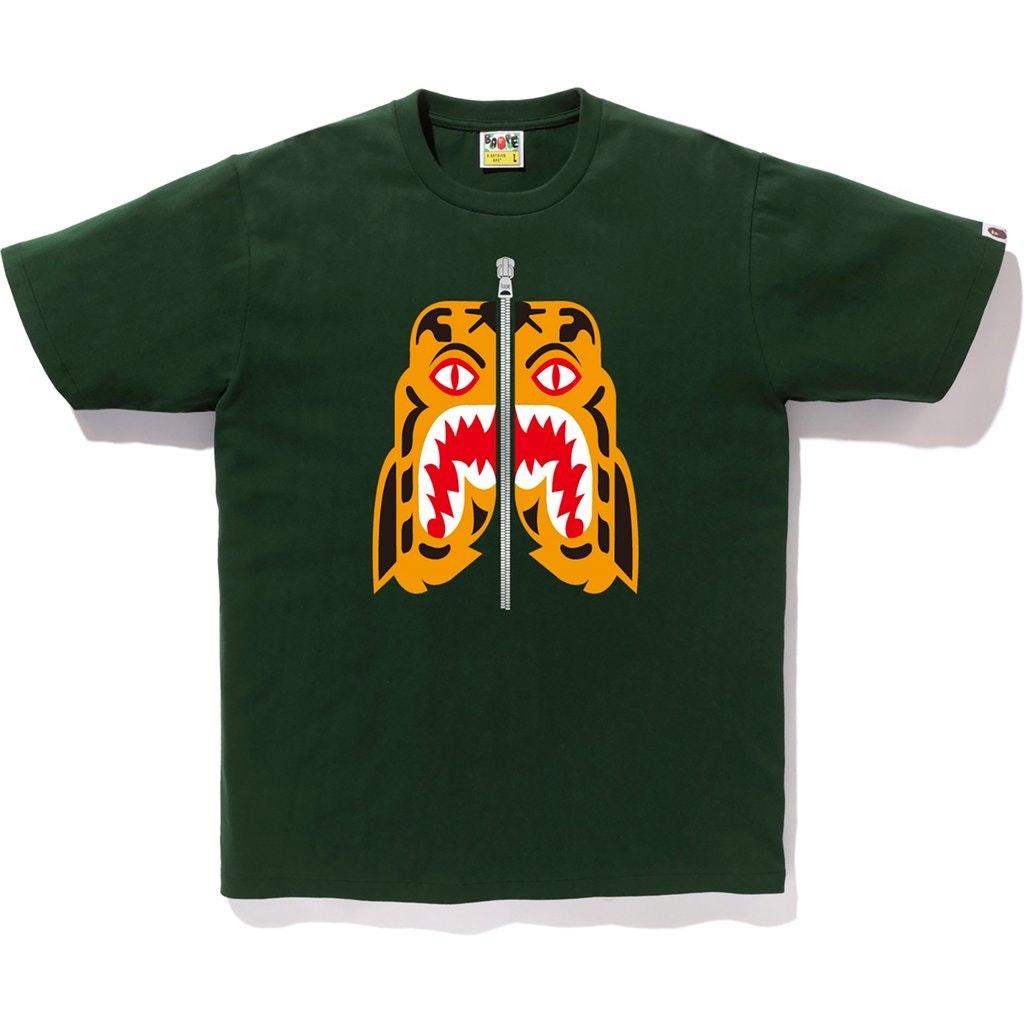 BAPE Tiger Tee Green