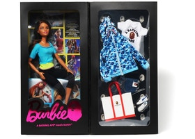 BAPE x Barbie Doll Blue