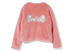 BAPE x Barbie Fur Coat Pink