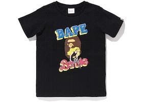 BAPE x Barbie Tee Black
