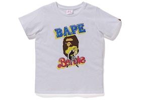 BAPE x Barbie Tee White
