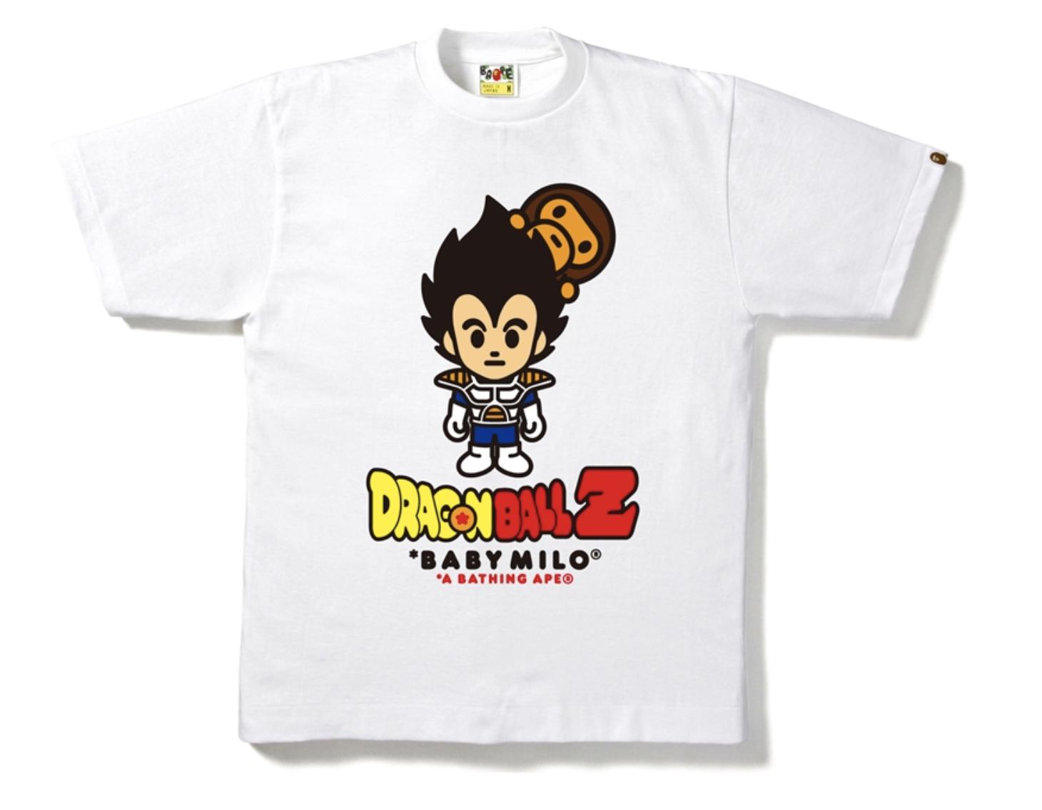 BAPE x Dragon Ball Z 11 Tee White -