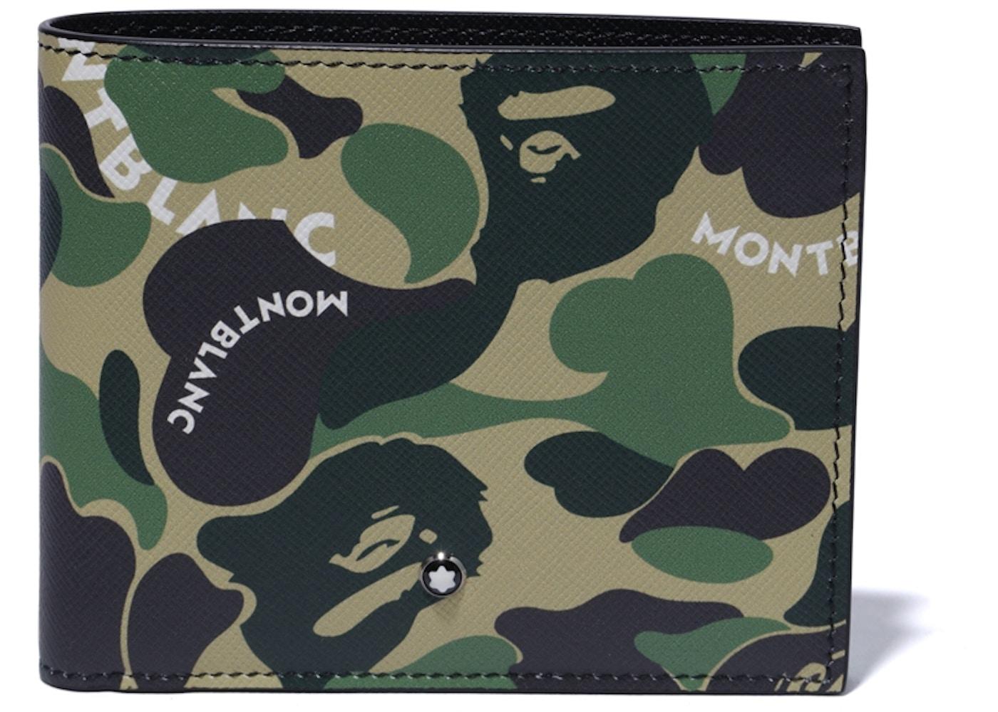 b7e82e57038 BAPE x Montblanc Wallet Green - SS19