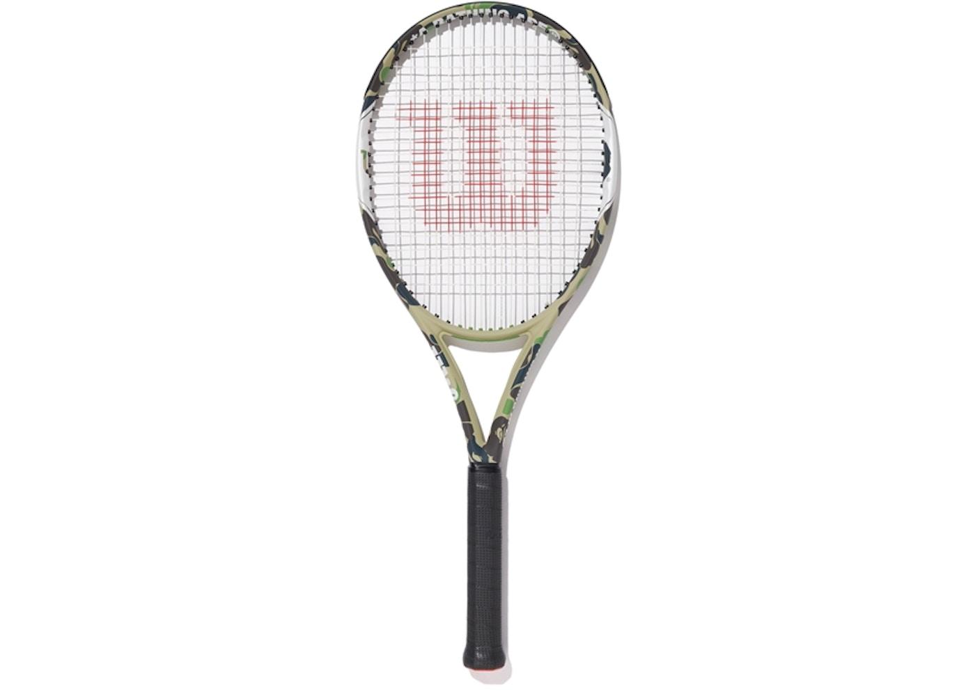 BAPE x Wilson Tennis Racket Green