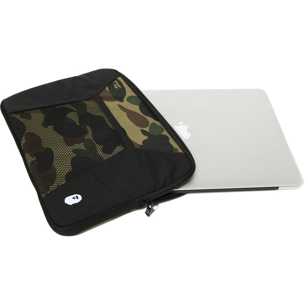 BAPE 1st Camo Color Block PC Case Black