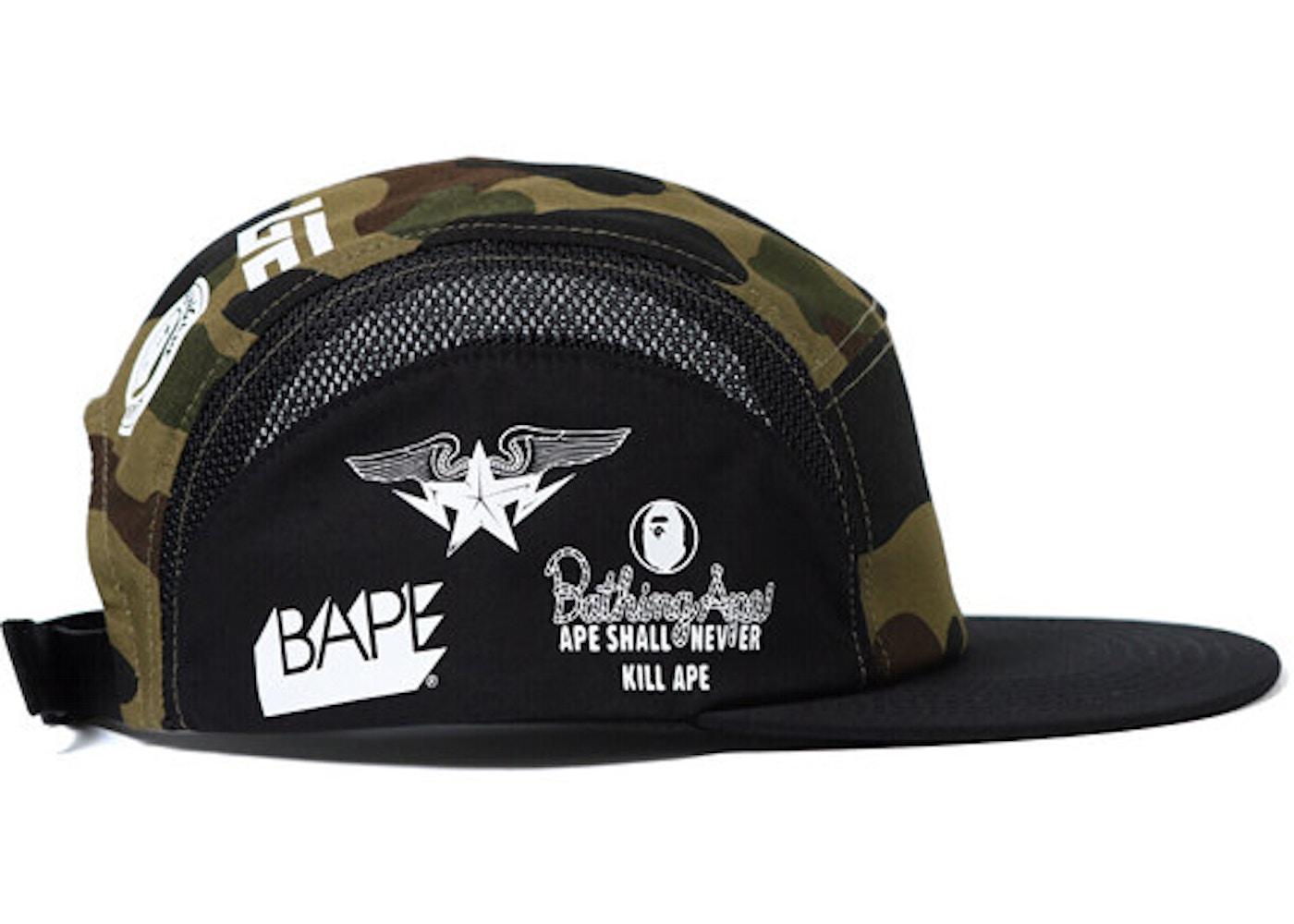 364164614f1af Streetwear - Bape Headwear - Total Sold