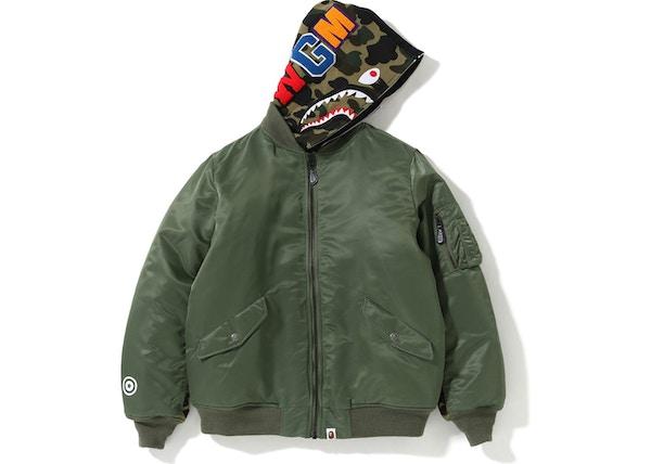 b331fc5c5 Streetwear - Bape Jackets - Average Sale Price