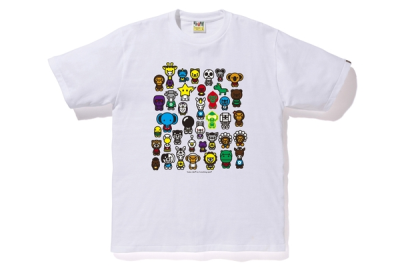 Bape A To Z Tee White by Stock X