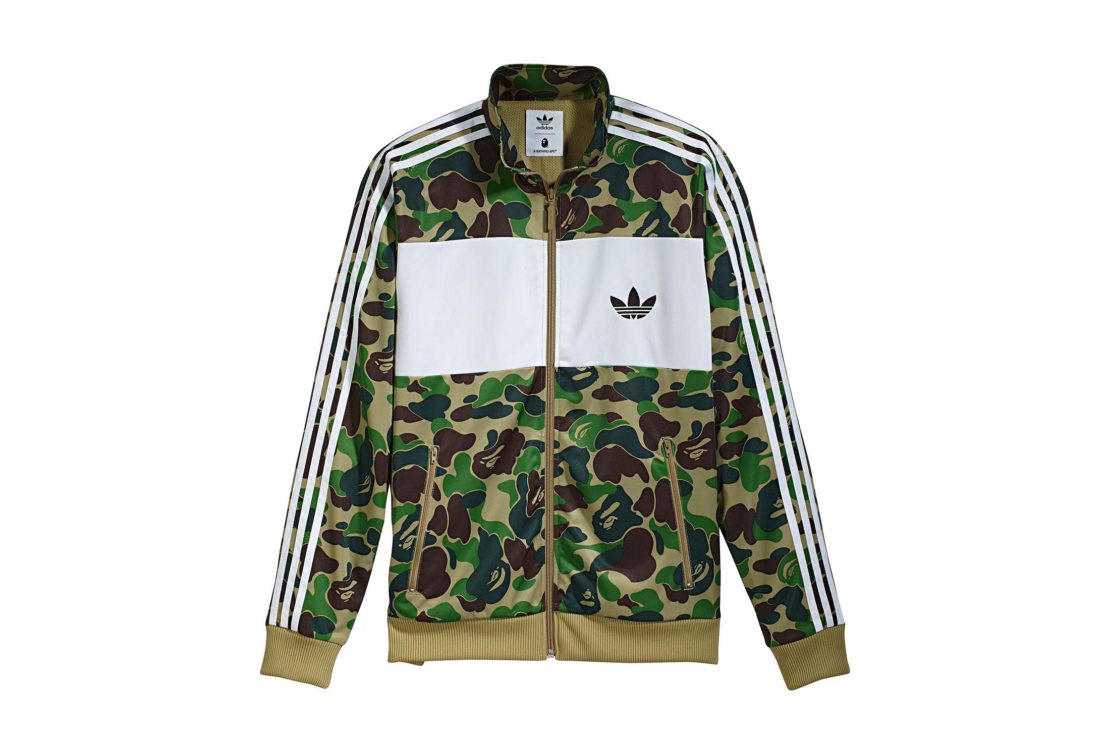 bape adidas jacket