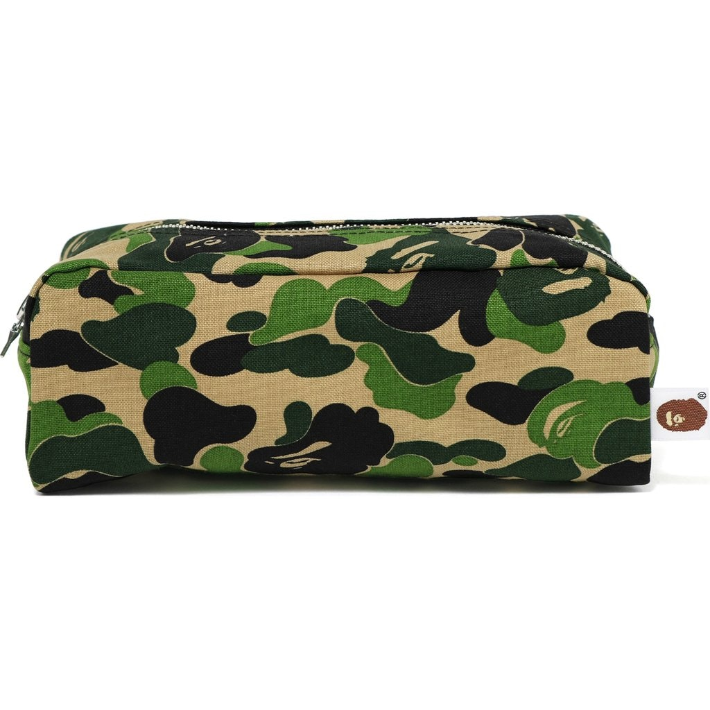 BAPE ABC Flight Pouch Green