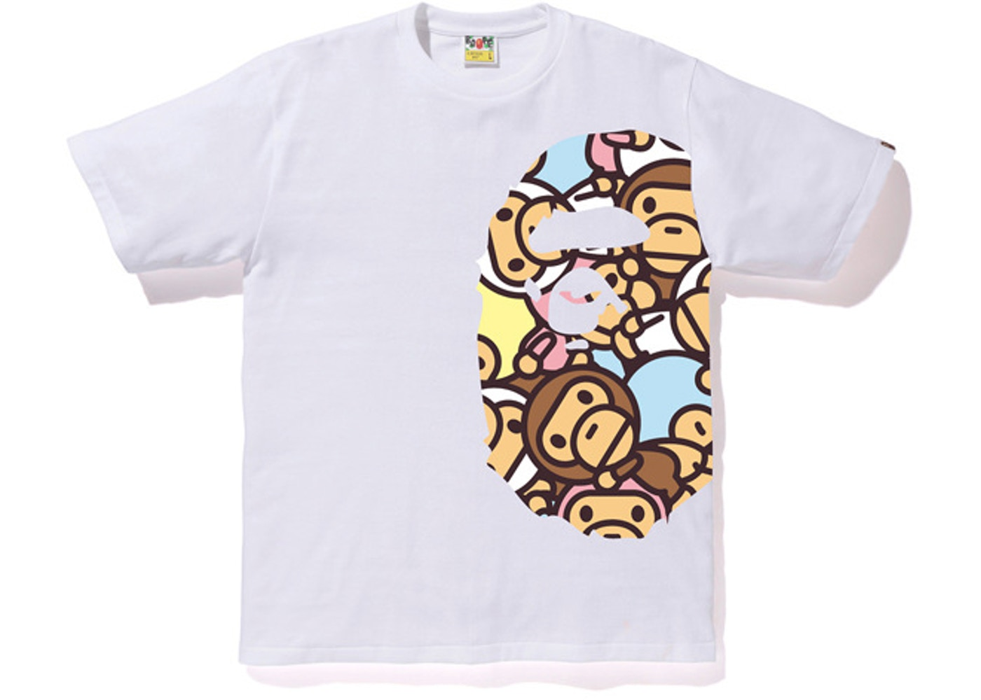 4359f890 Sell. or Ask. Size --. View All Bids. BAPE All Baby Milo Multi Side Big Ape  Head Tee White