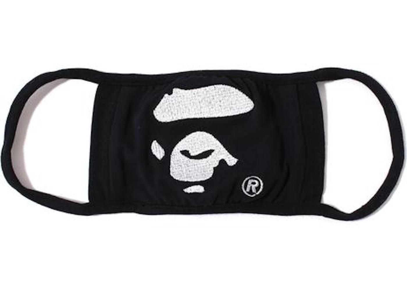 Bape Ape Face Mask Black Buy Or Sell On Stockx