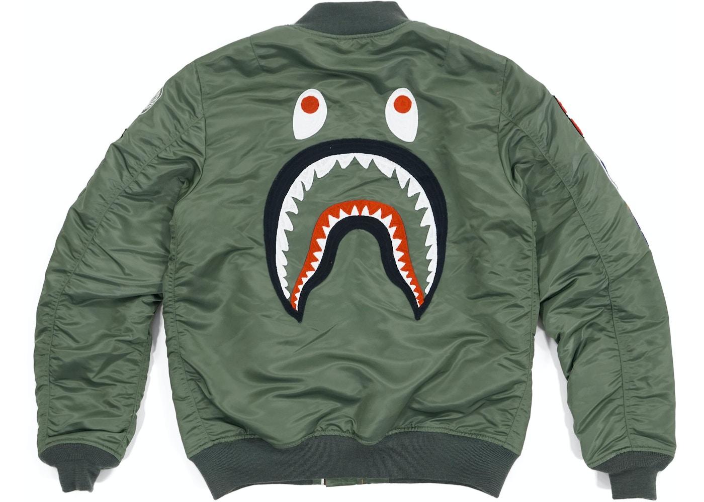 c486ec7fd1a80 Streetwear - Bape Jackets - New Highest Bids