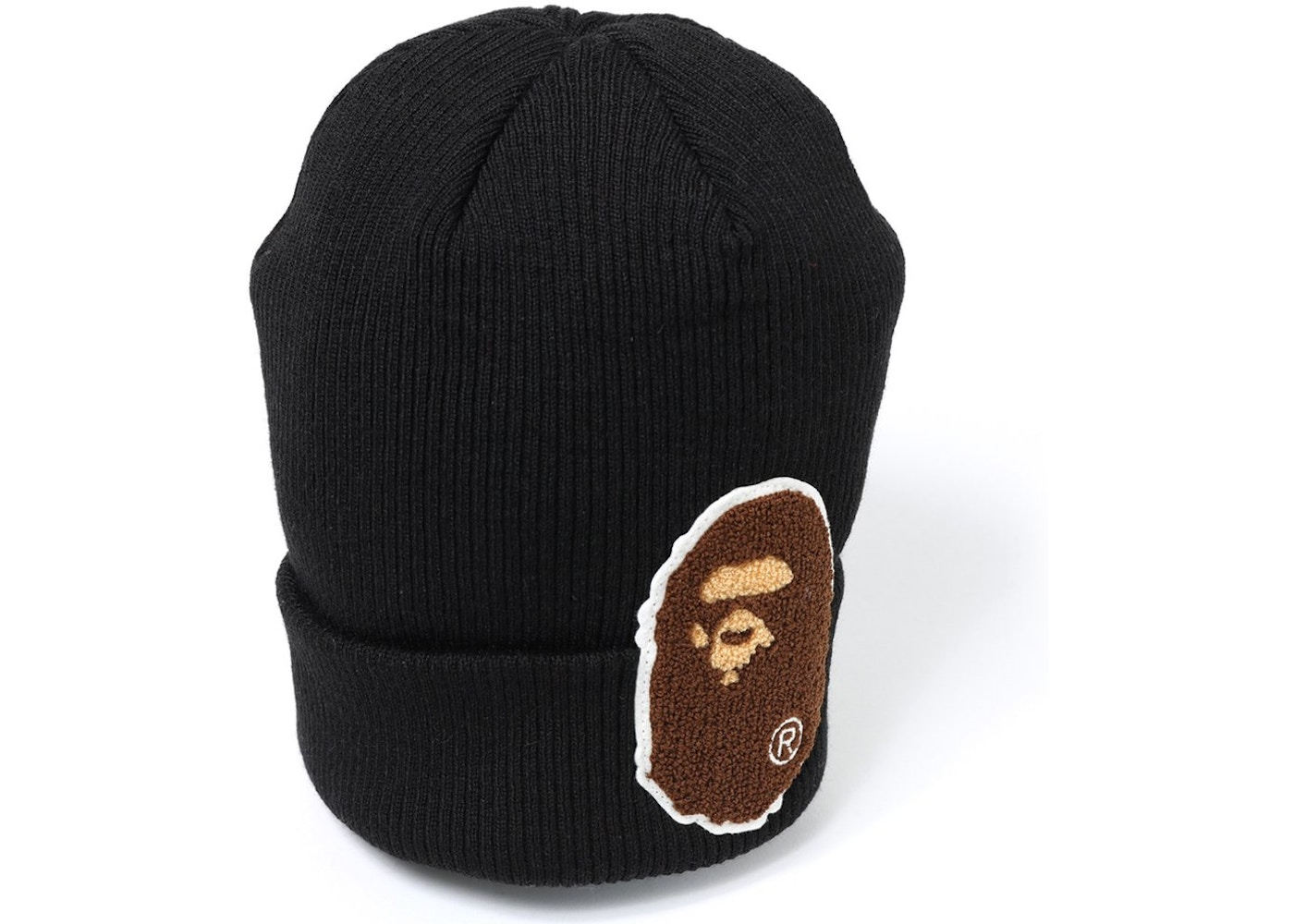 BAPE Big Ape Head Knit Cap Black. Big Ape Head Knit 9ace10db8e0