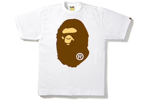 267ae297b704 BAPE Big Ape Head Tee White