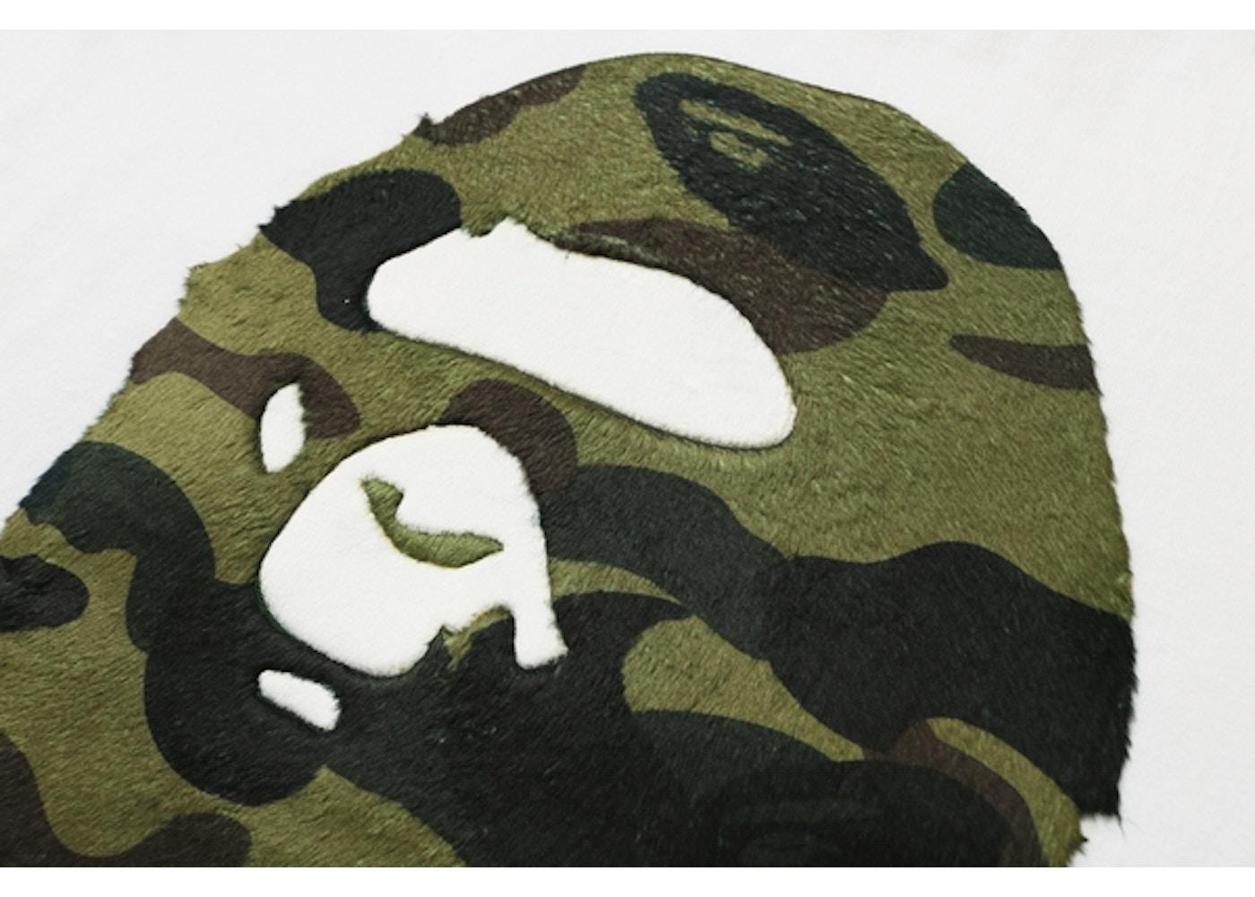68fe7753 BAPE Boa 1st Camo Big Ape Head Tee White/Green - FW18