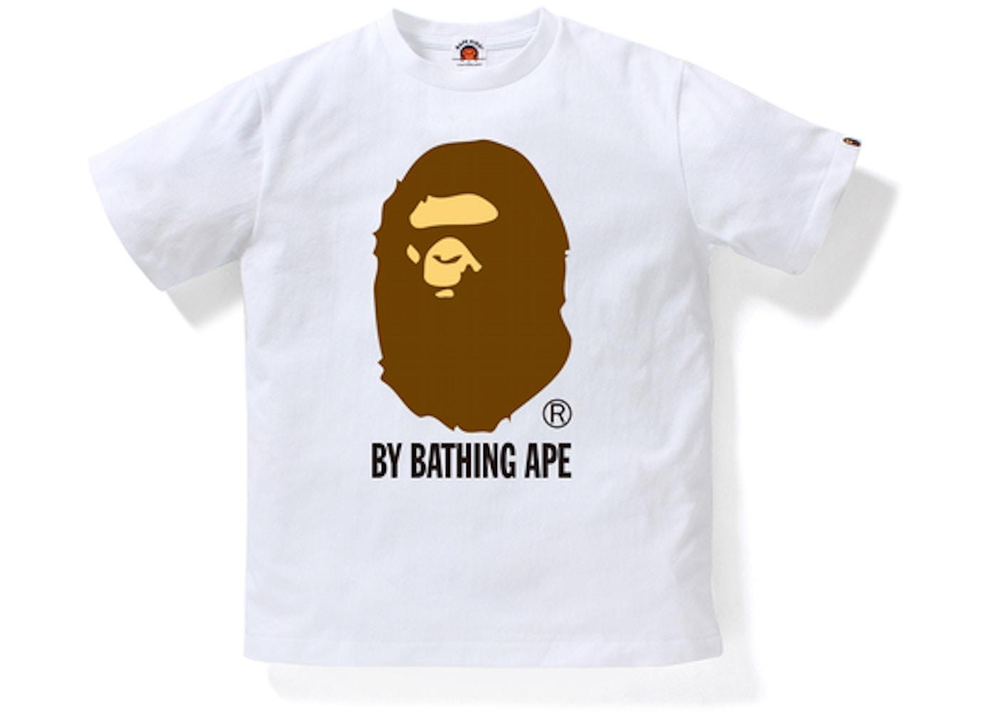 BAPE By Bathing Ape Tee (Kids) White Brown - 94787ca0908d