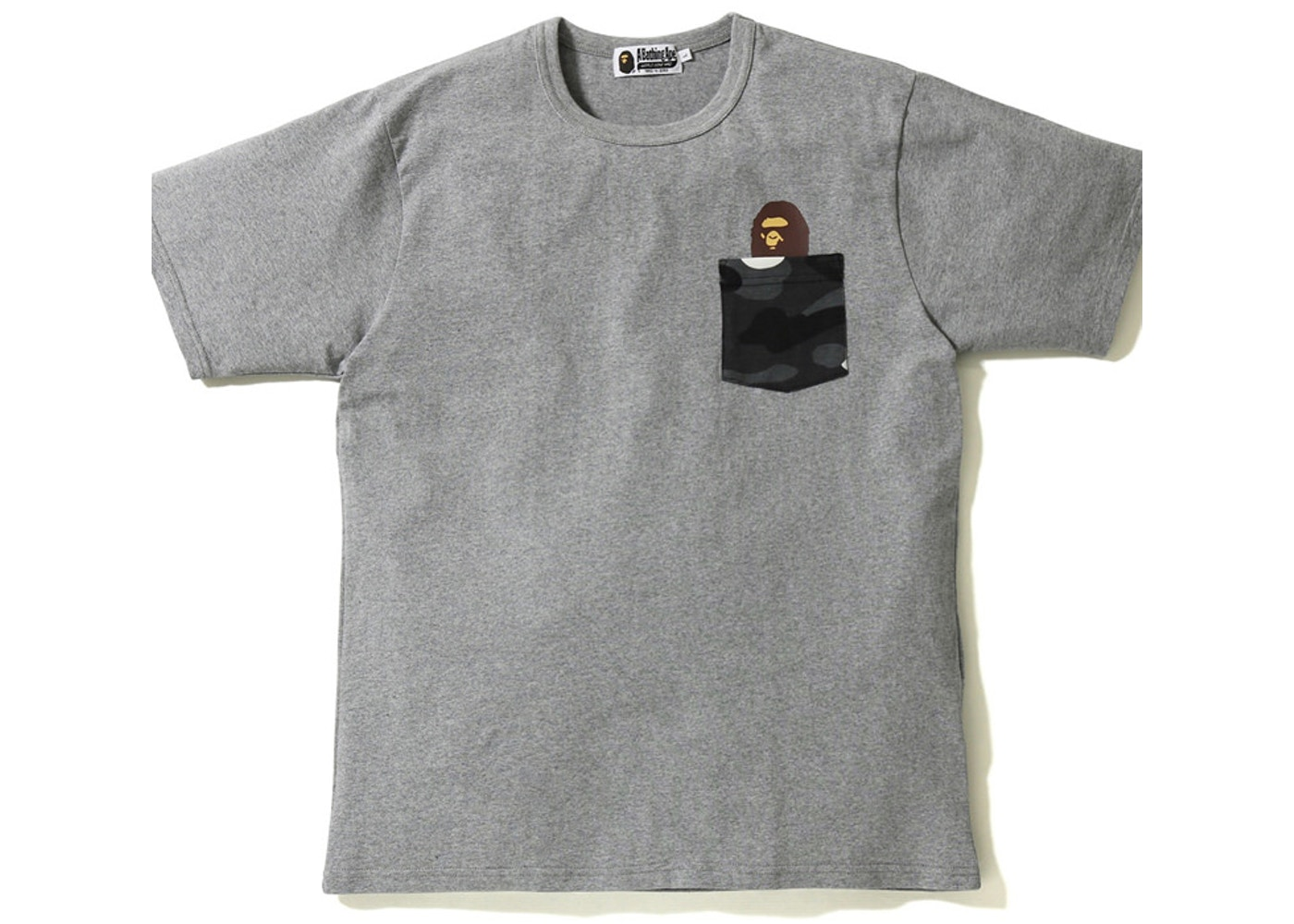 e5f2c44f2 Sell. or Ask. Size --. View All Bids. BAPE City Camo Pocket Tee Grey