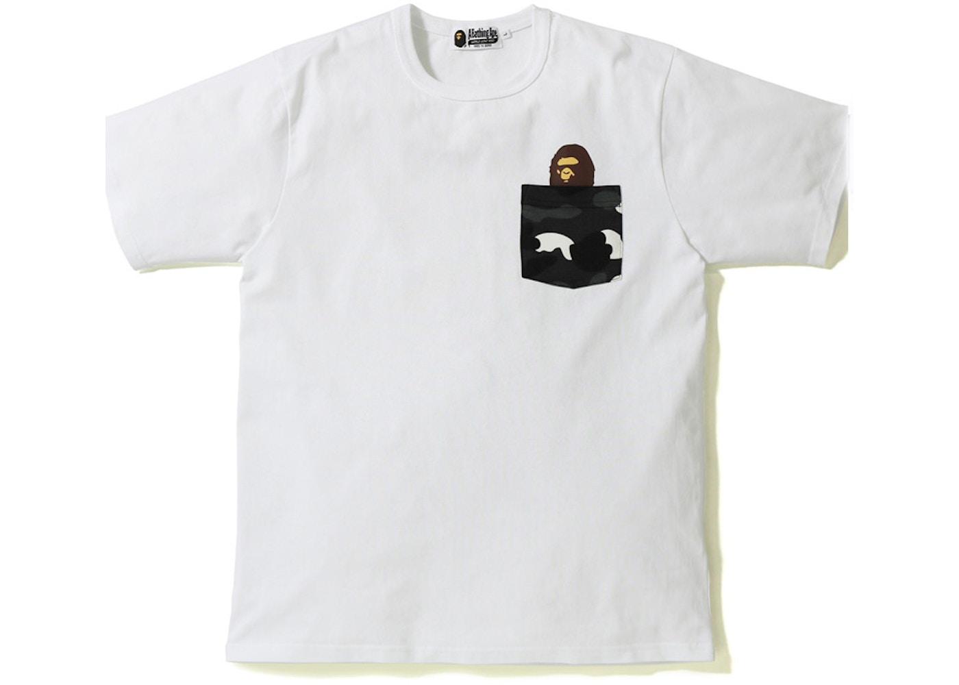 e343de70d Sell. or Ask. Size --. View All Bids. BAPE City Camo Pocket Tee White