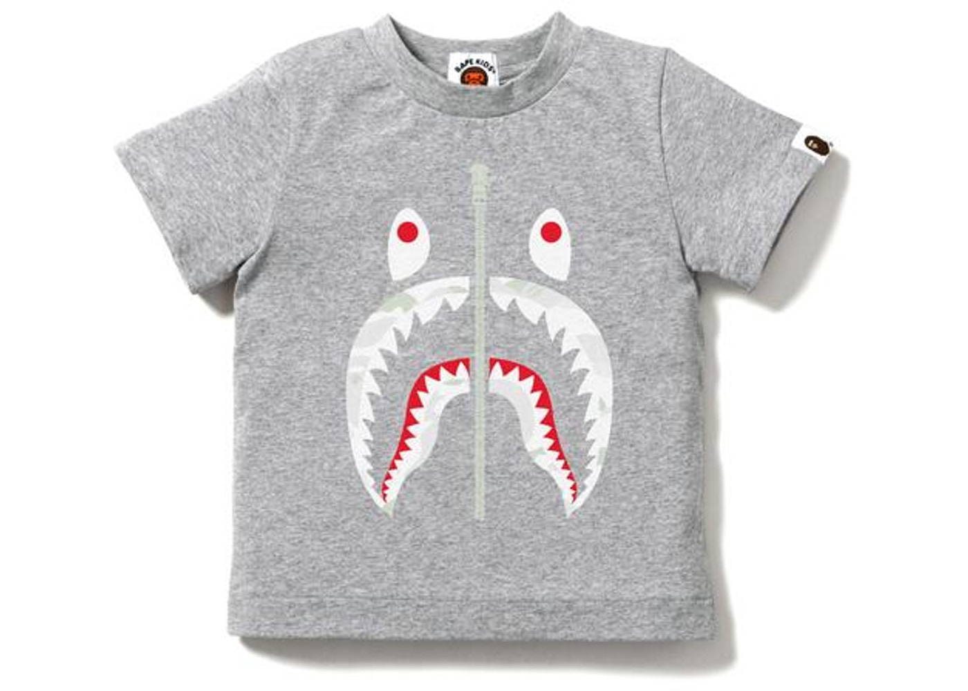 30ebb4d5 Sell. or Ask. Size --. View All Bids. BAPE City Camo Shark Tee ...