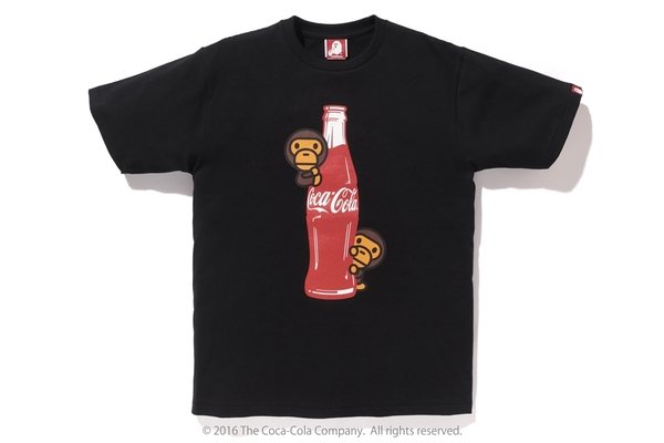 BAPE Coca-Cola Milo Tee 4 Black