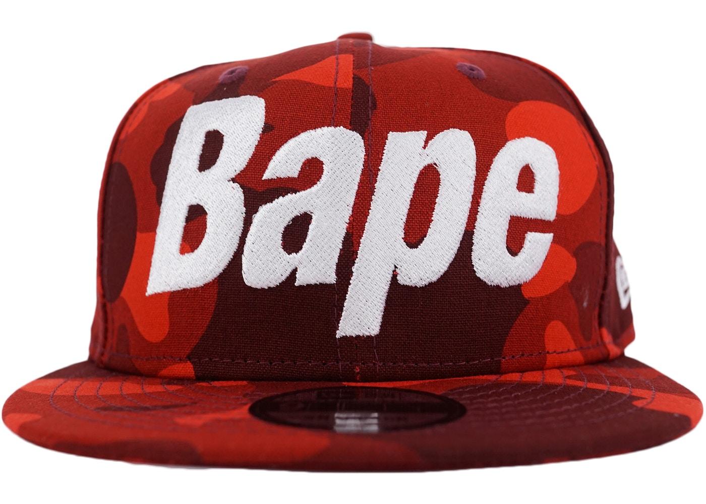 bape color camo snapback red uk availability bedac 35299 - visityaab.com f5b7dbdc58cd