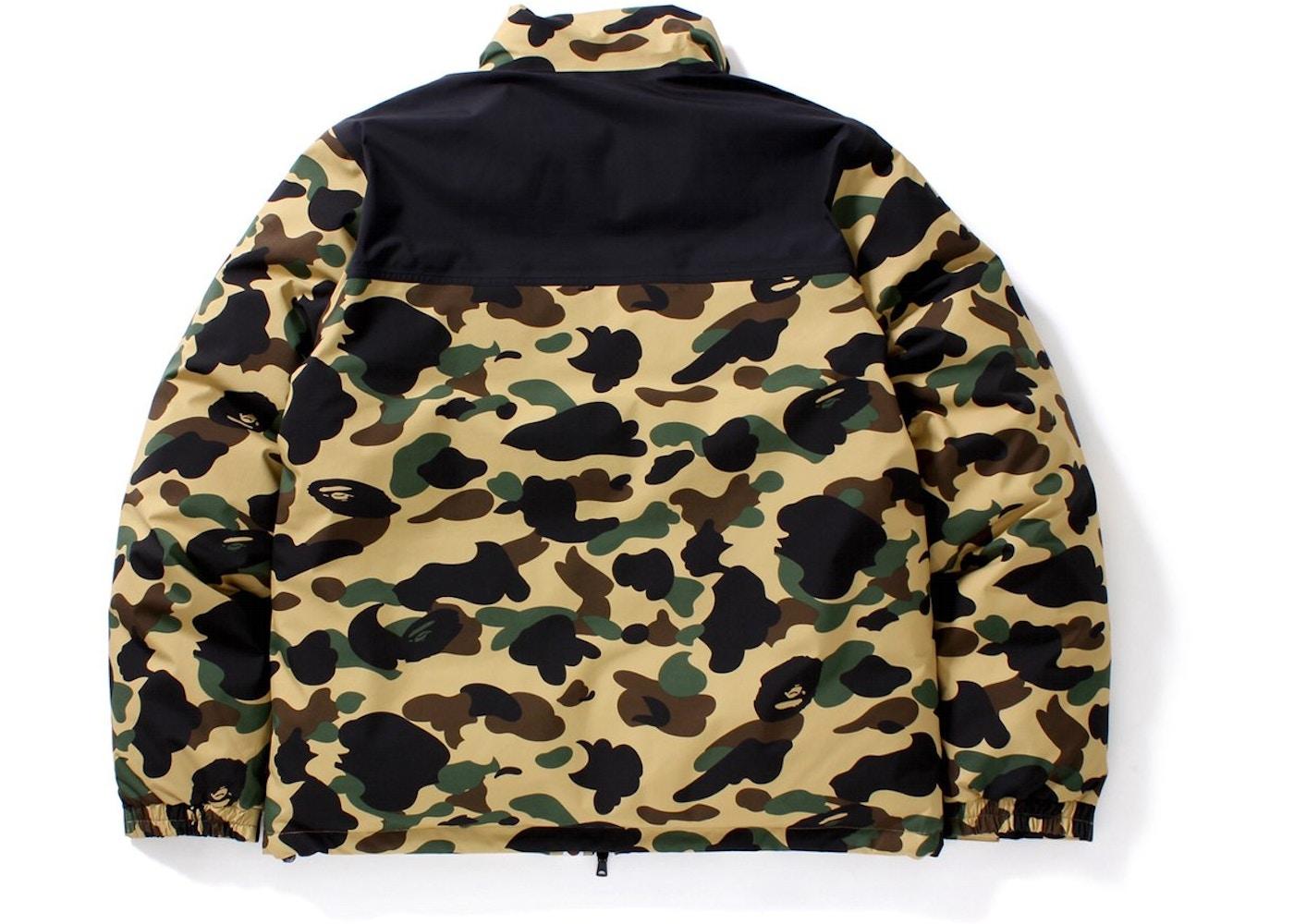 038b5315 BAPE Gore-Tex 1st Camo Down Jacket Jacket Yellow -