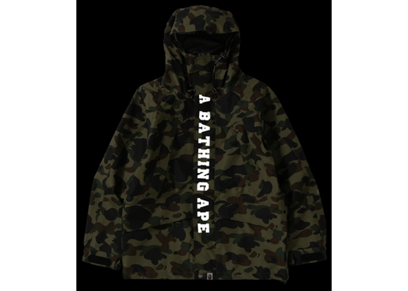 9ecb4216b Streetwear - Bape Jackets - Average Sale Price