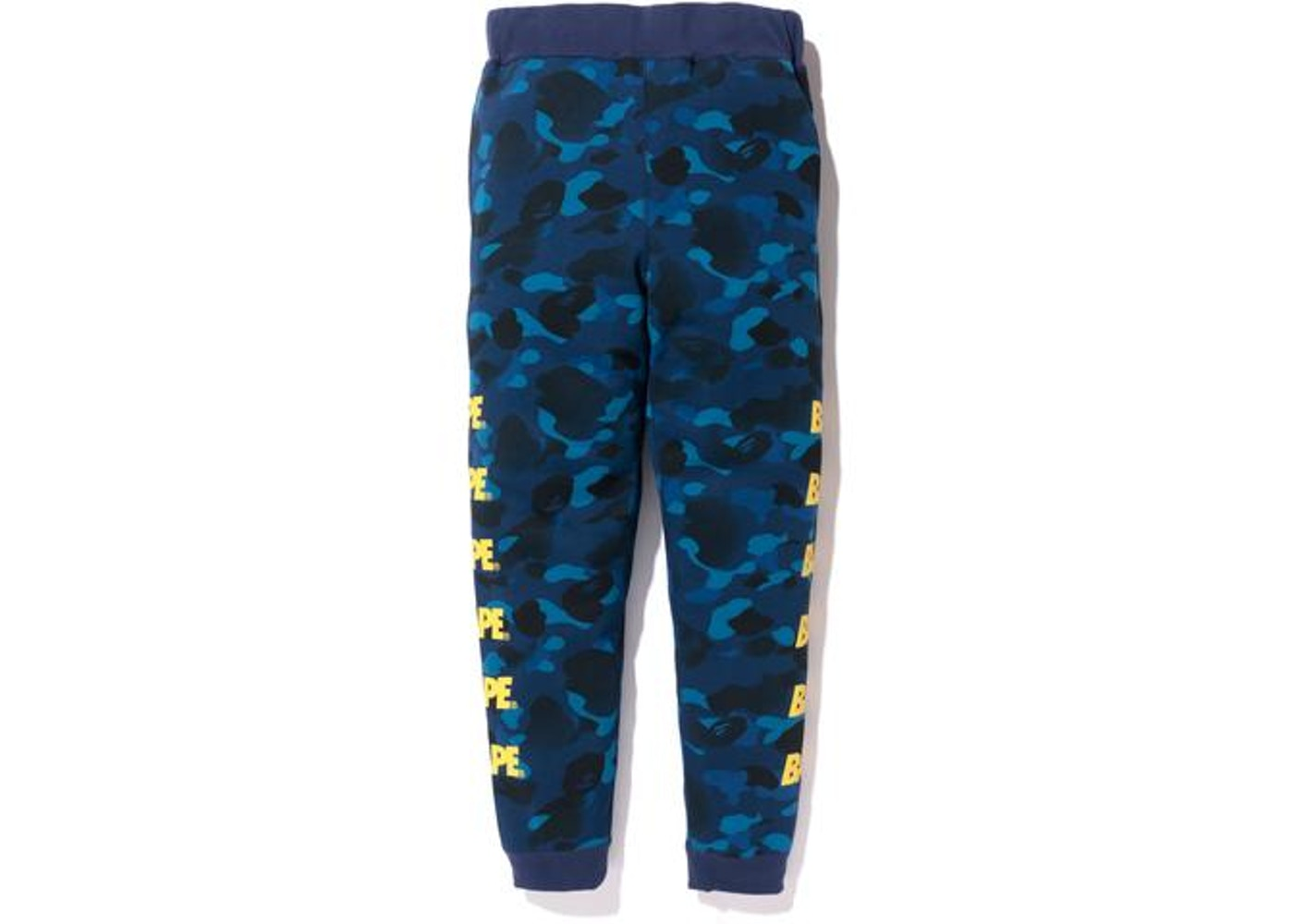 620ab7d6 BAPE Gradation Camo Slim Sweat Pants Pants Navy -