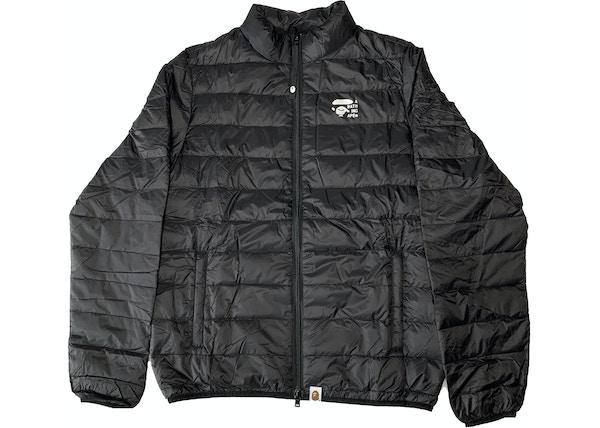 c364f21b53f3 BAPE Happy New Year Light Down Jacket Black
