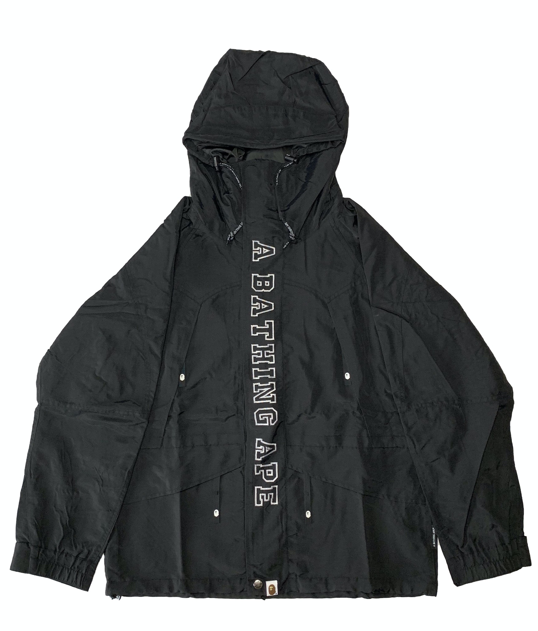 BAPE Happy New Year Snowboard Jacket Black