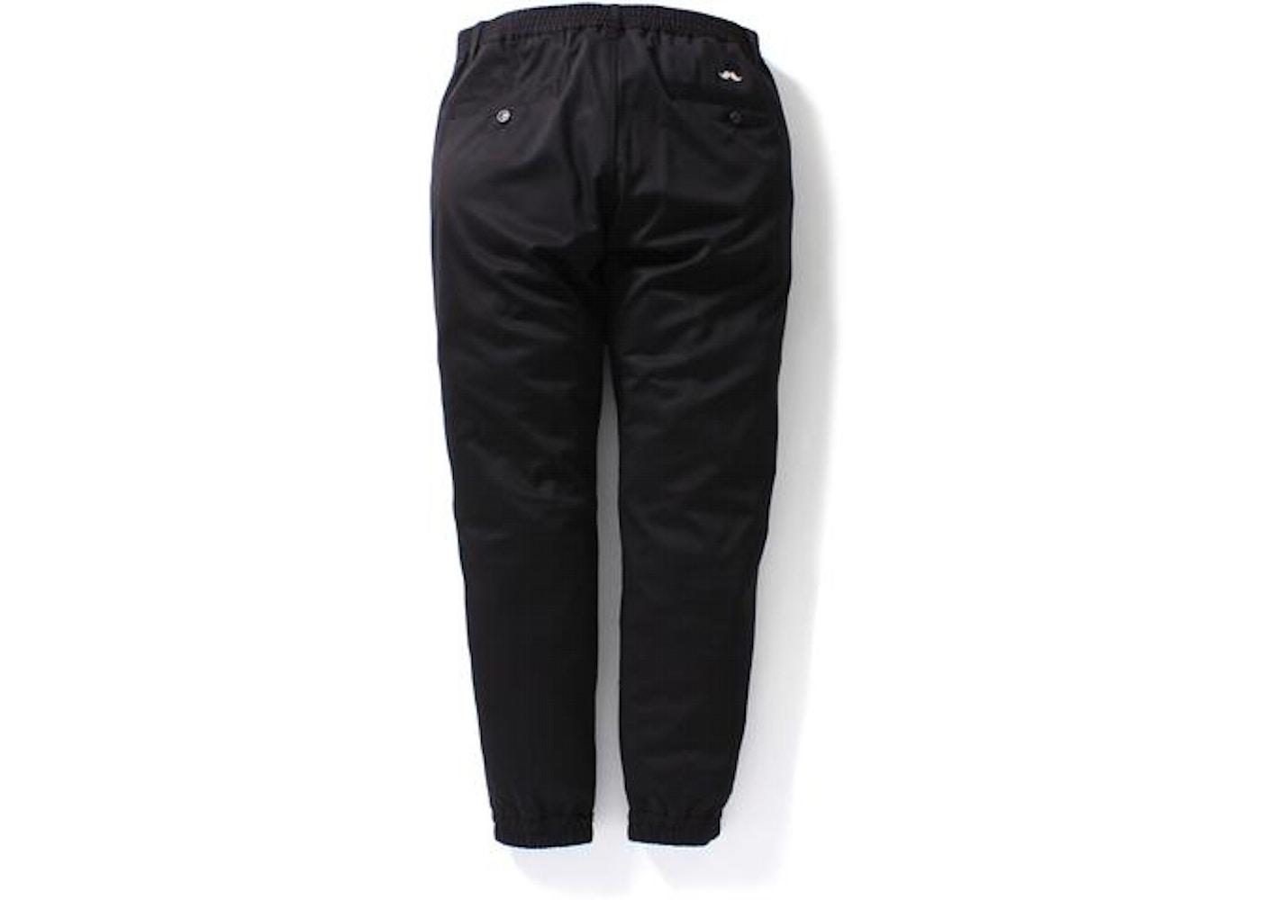 BAPE Jogger Pants M Black - f2445126f