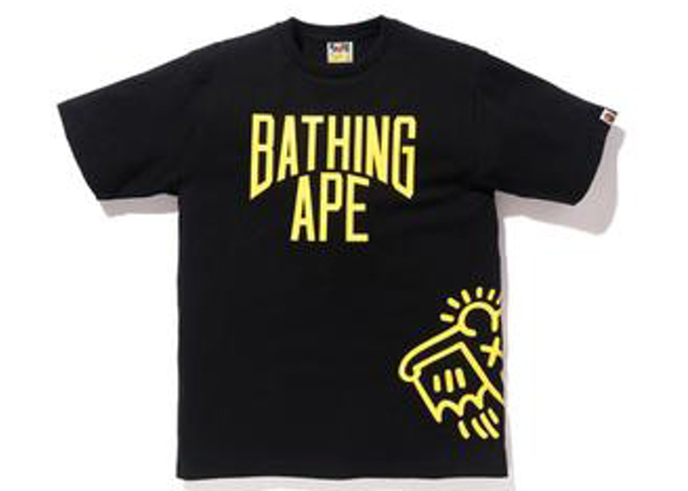 423bb244 Sell. or Ask. Size L. View All Bids. BAPE Keith Haring 3 Tee Black