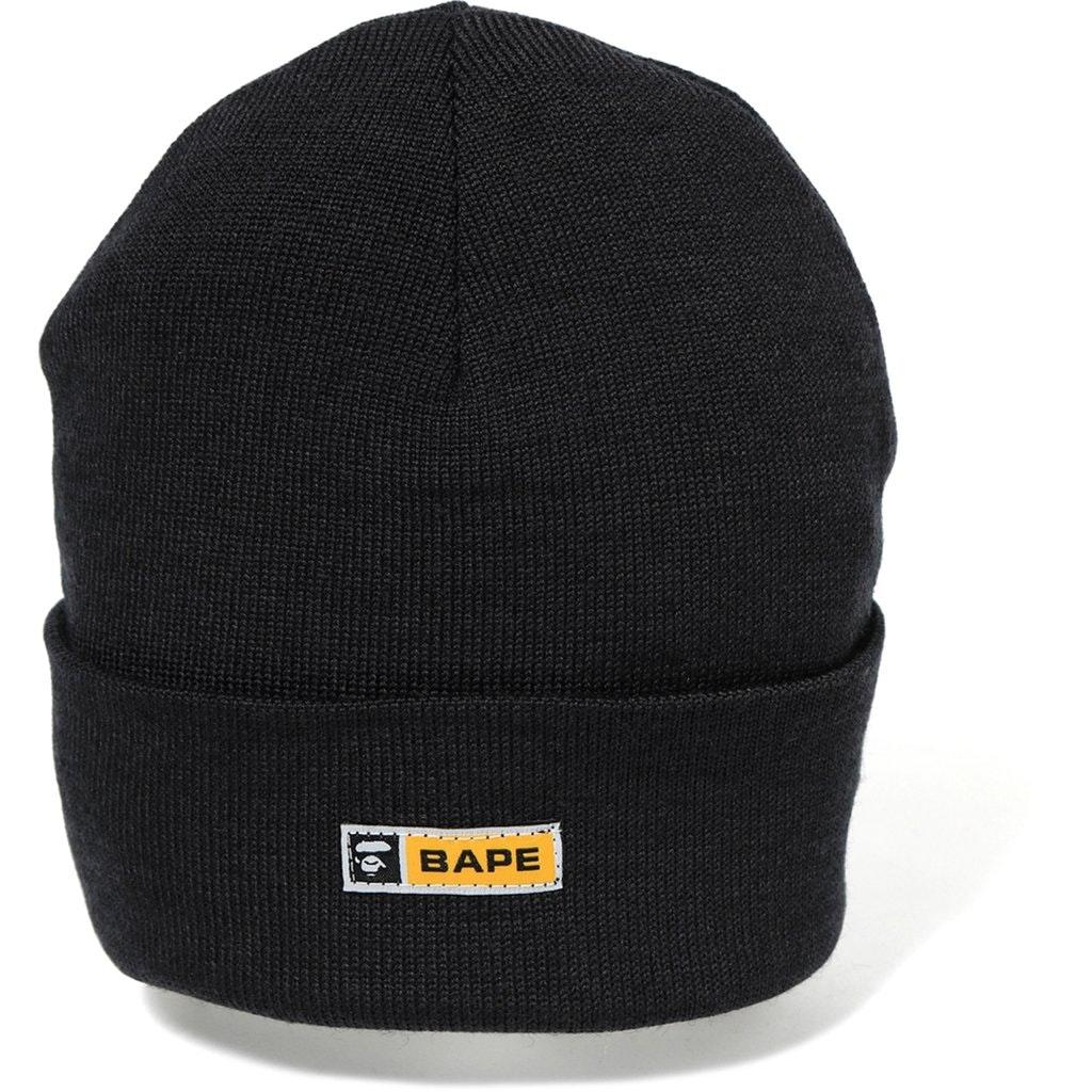 Bape Knit Watch Cap Black