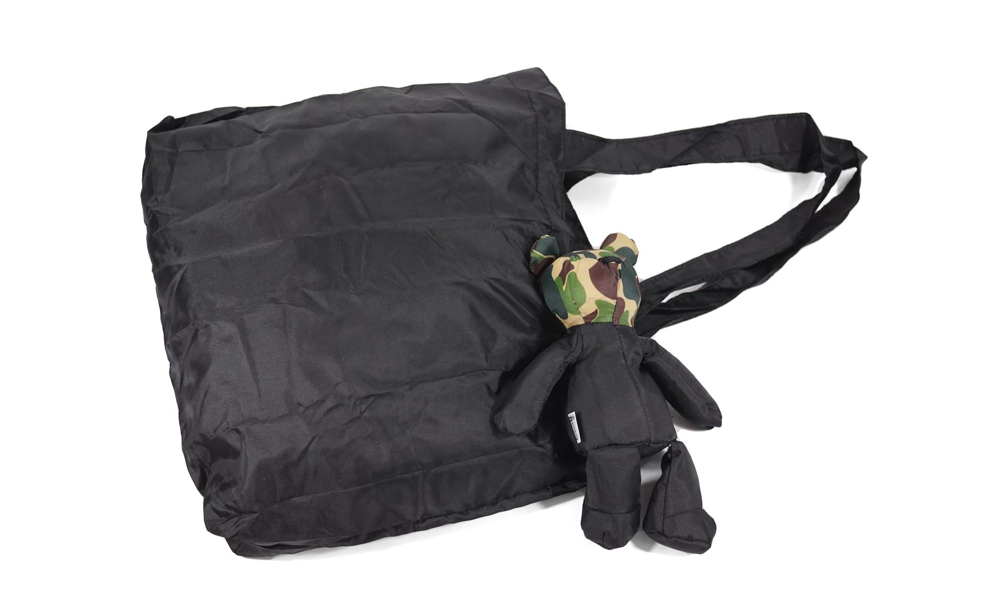 Bape Lucky Bag Teddy Tote Black