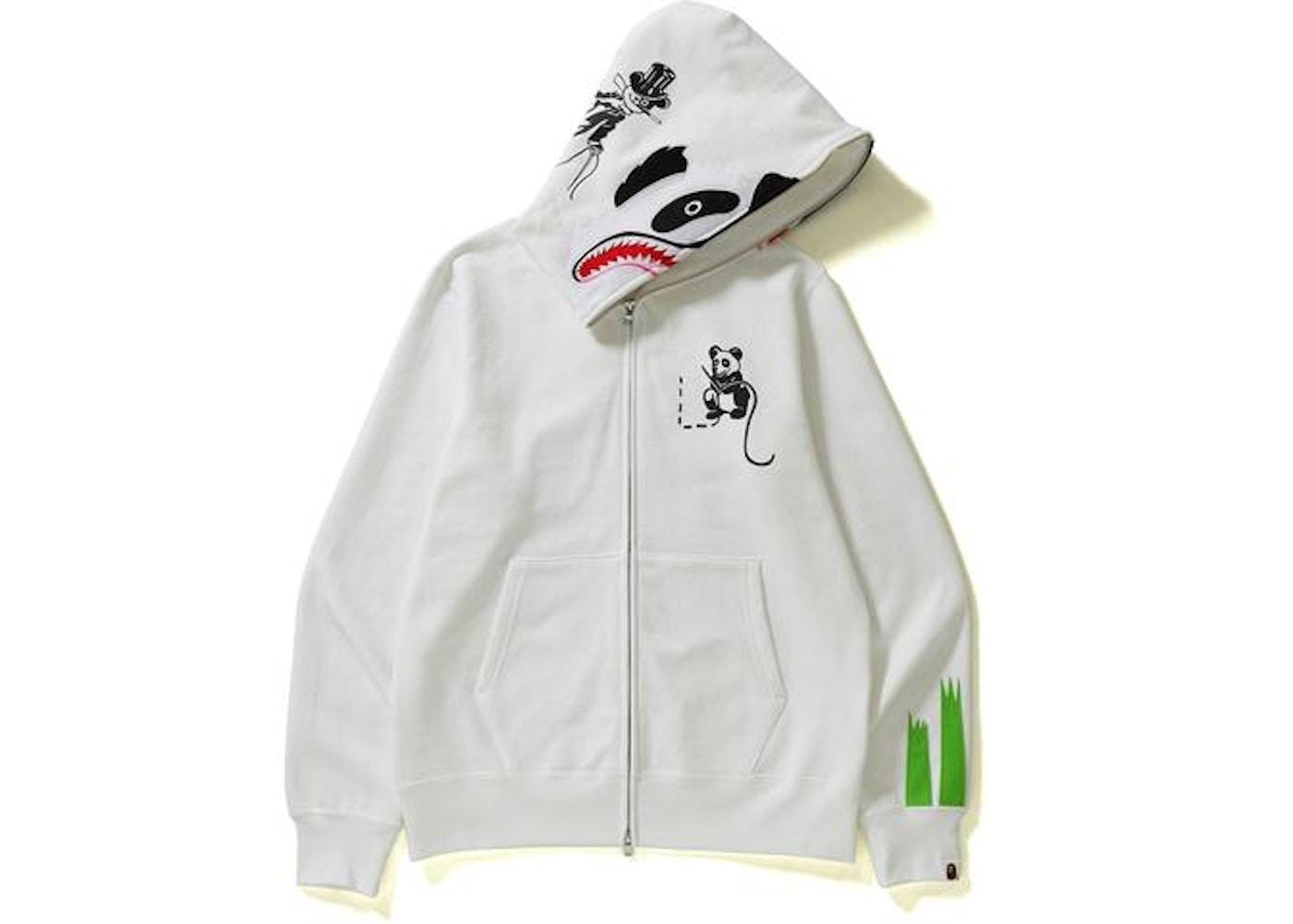 d52c498e3ede Sell. or Ask. Size  XL. View All Bids. BAPE Panda Full Zip Hoodie White