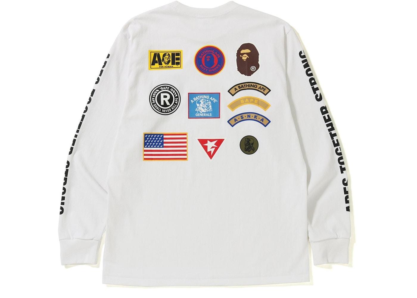 23e17535 Streetwear - Bape T-Shirts - New Highest Bids