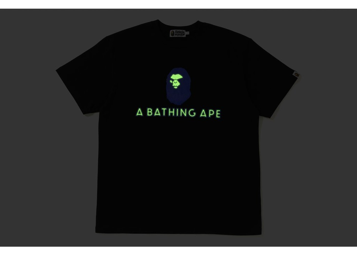 77317919bad8 BAPE Relaxed Mad Face Tee Black - FW18