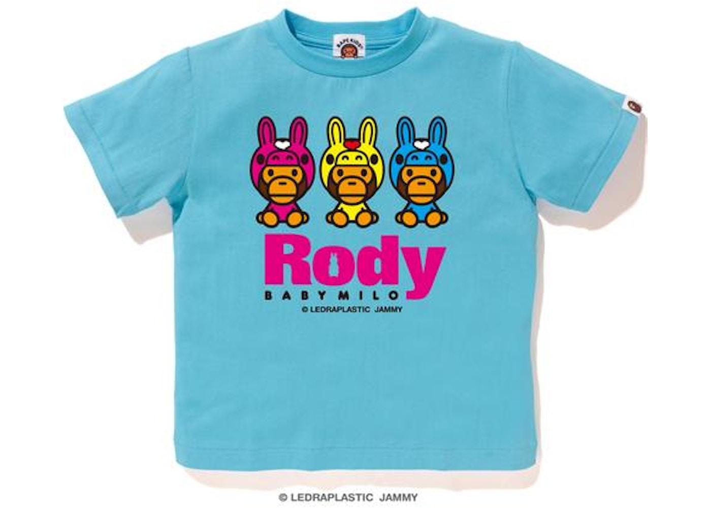 9317222b BAPE Rody X Baby Milo Tee Tee (Kids) Sax -