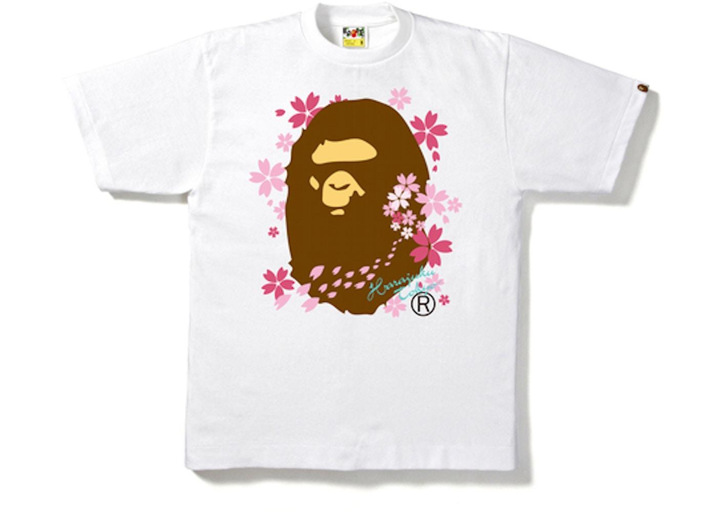 fa1034b96 Sell. or Ask. Size --. View All Bids. BAPE Sakura Ape Head Tee White