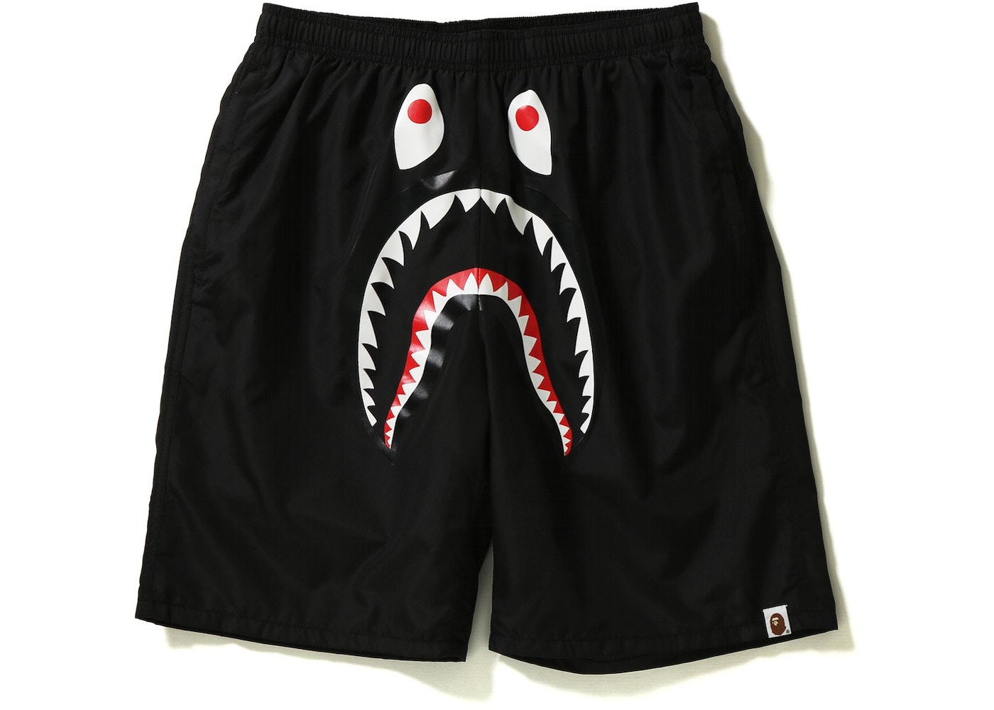 how to purchase professional sale temperament shoes BAPE Shark Beach Shorts Black