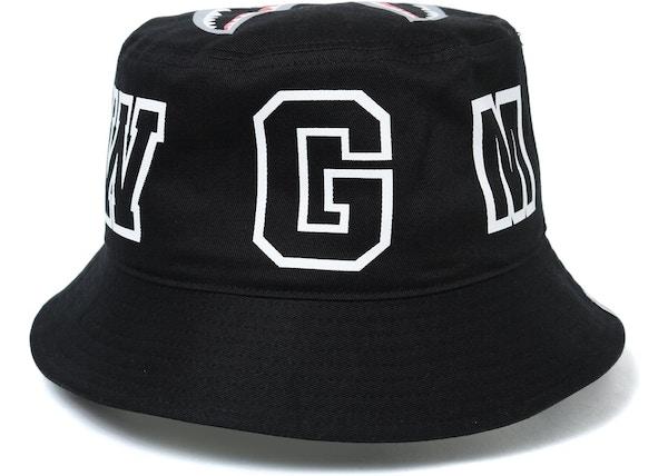 BAPE Shark Bucket Hat Black - 55a2fe5b040