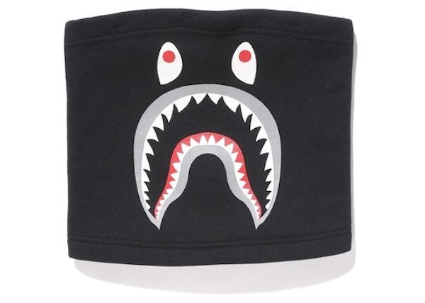 fc61acf1acf BAPE Shark Neck Warmer Black - FW18