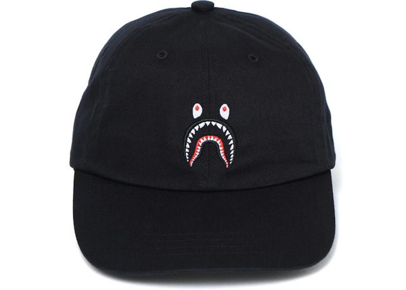 BAPE Shark Panel Cap Black. Shark Panel ec17167e2f6